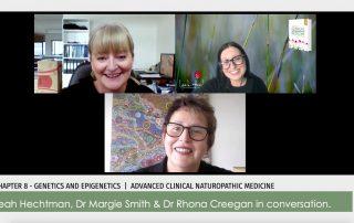 Dr Margie Smith, Dr Rhona Creegan, Leah Hechtman